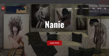 site web nanie-artiste-peintre