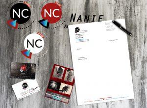 charte éditoriale-carte de visite-flyers-papier en tête-logos