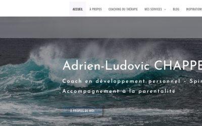 page d'accueil du site Chappert